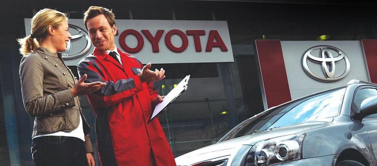 Toyota lohja huolto
