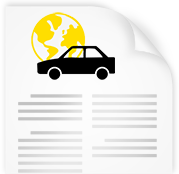 Ajoneuvolla ulkomaille