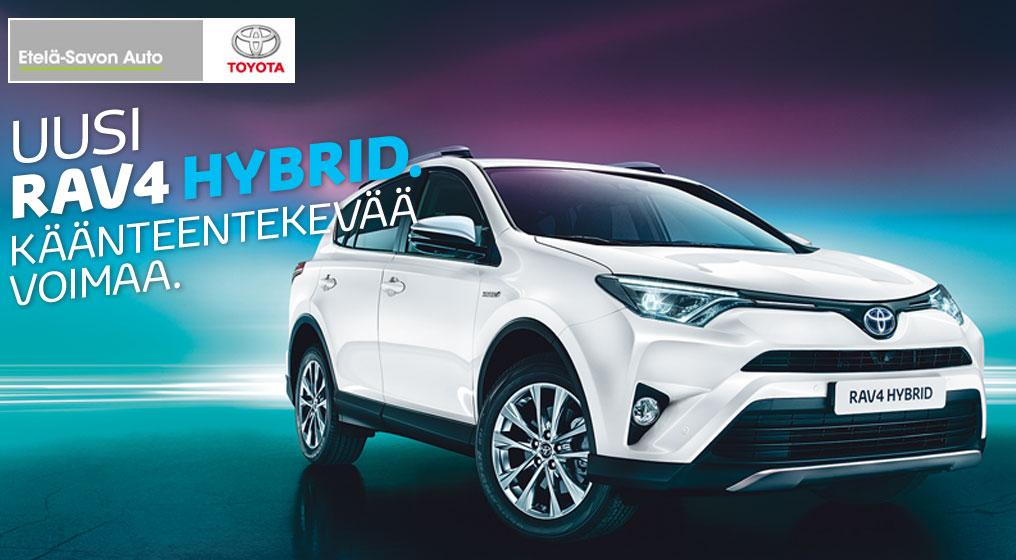 Uusi Toyota RAV4 HYBRID. Käänteentekevää voimaa.