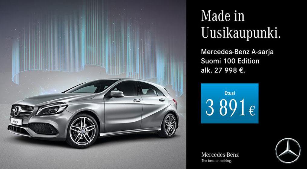 A-Sarja Suomi 100 Edition.