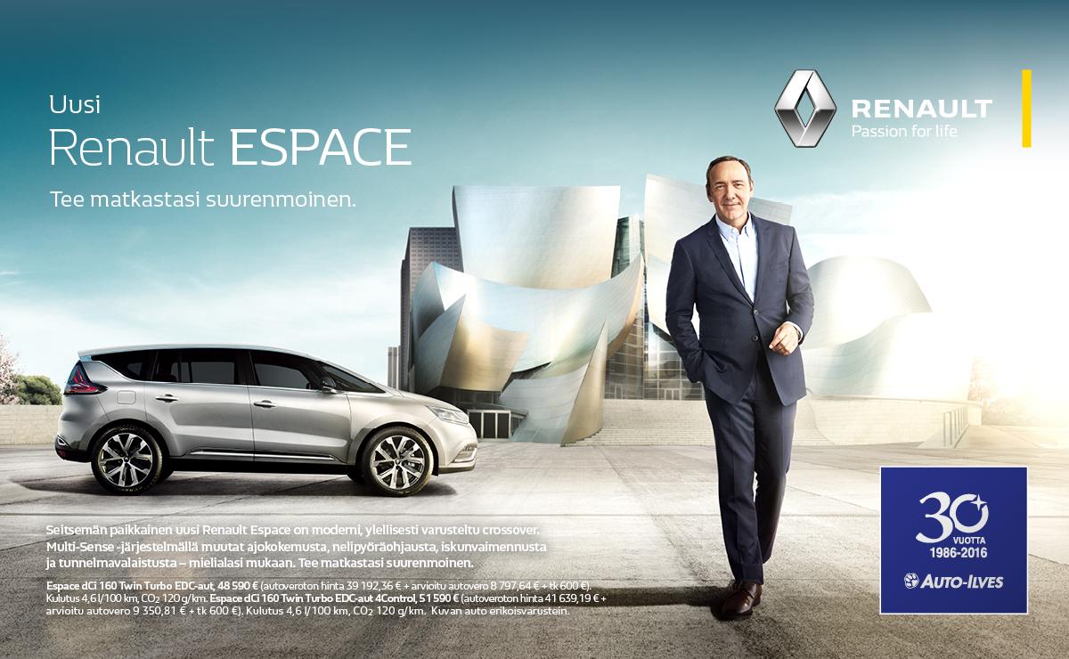 Uusi Renault ESPACE