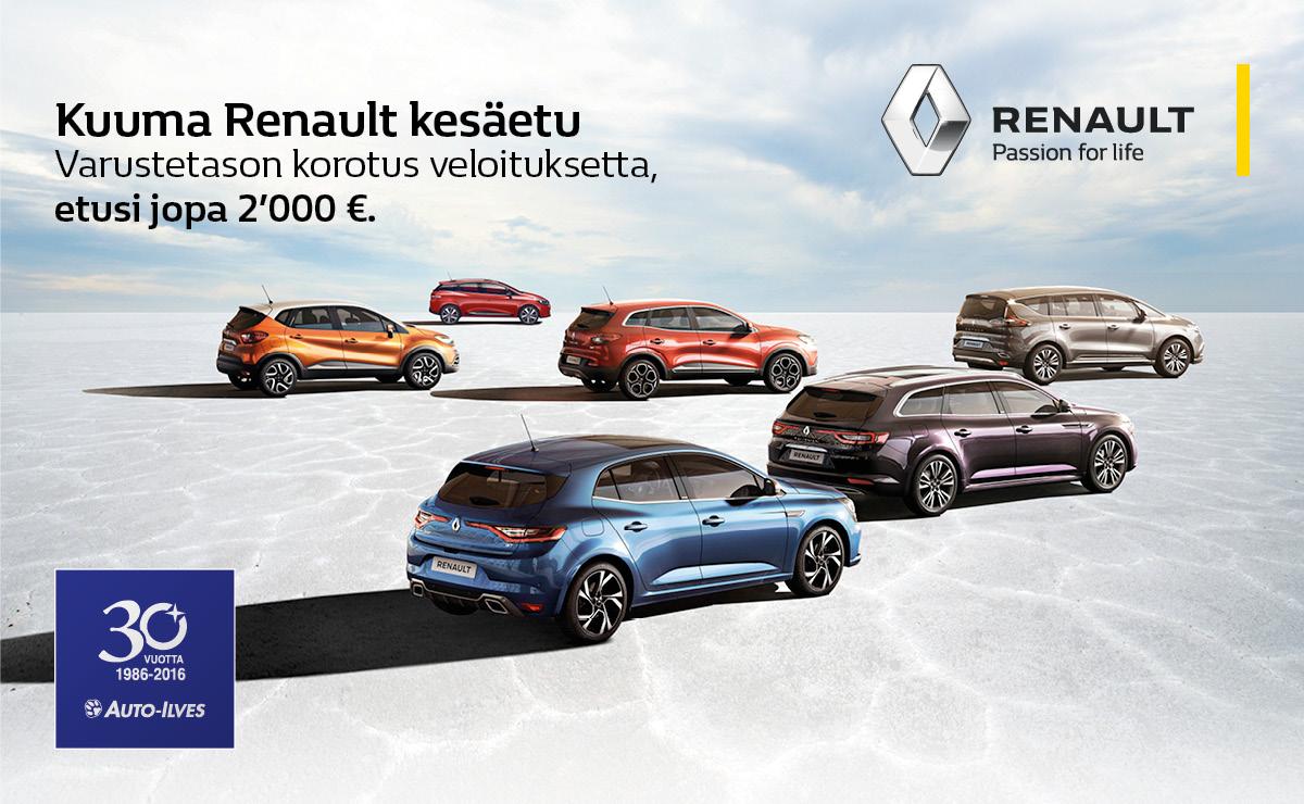 Renaultin kuuma kesäetu