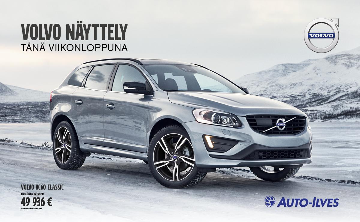 Volvo näyttely 14.-15.1.2017