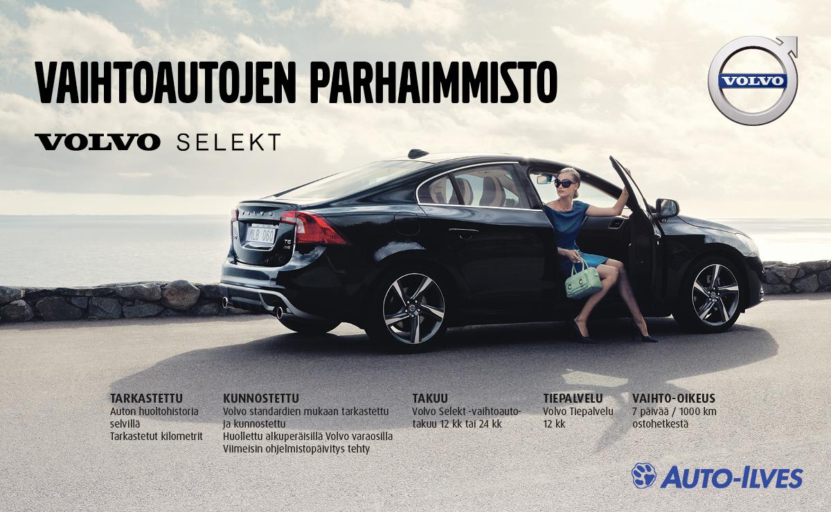 Volvo Selekt - Vaihtoautojen parhaimmisto