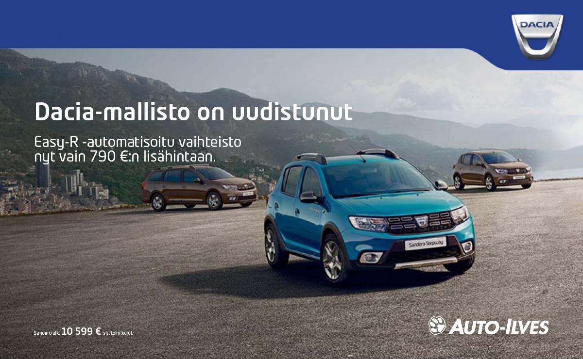 Dacia Easy-R -automatisoitu vaihteisto