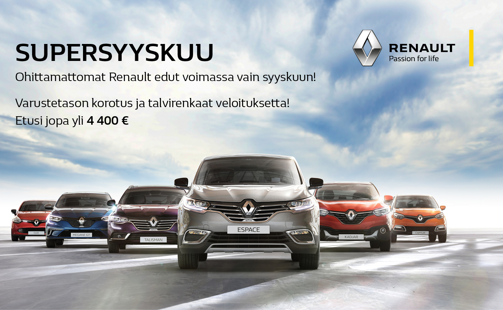 Renault Supersyyskuu