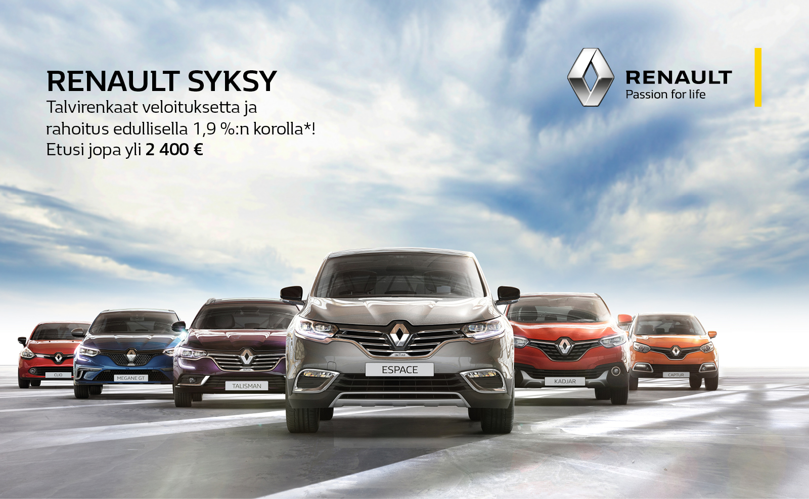 Renault syksy 2016
