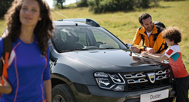 Dacia merkkihuollossa autosi arvo säilyy