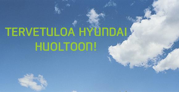 Huollattamalla Hyundaisi valtuutetulla korjaamolla varmistat tehdastakuun ja jälleenmyyntiarvon säilymisen