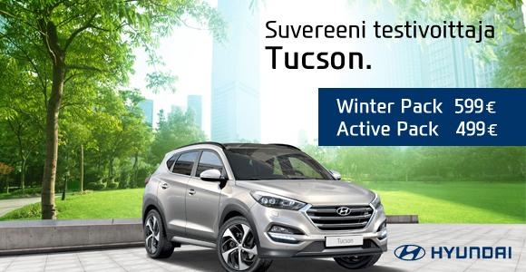 Syysedut Hyundai Tucsonin ostajalle