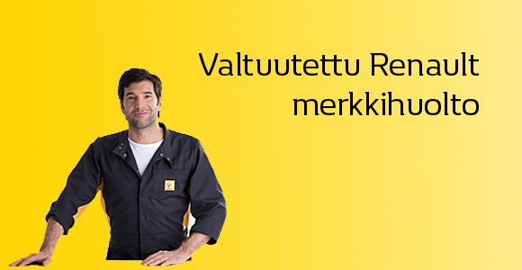 Valtuutettu Renault -huoltoliike palvelee sinua ammattitaidolla