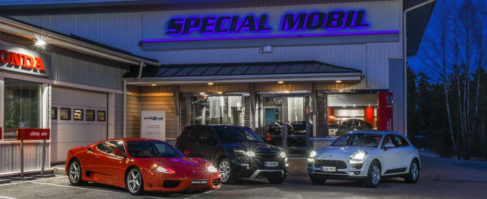 Special Mobil yhteystiedot