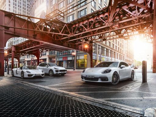 Porsche E-Performance. Suuntana: Tulevaisuus.