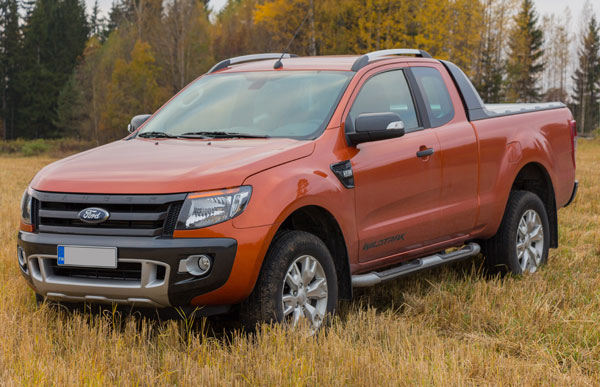 Testissä Ford Ranger Wildtrak -pick-up