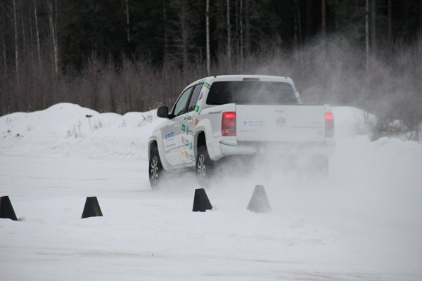 Volkswagen Winter Drivingschool