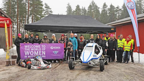 Autourheilu todella kiinnostaa naisia!