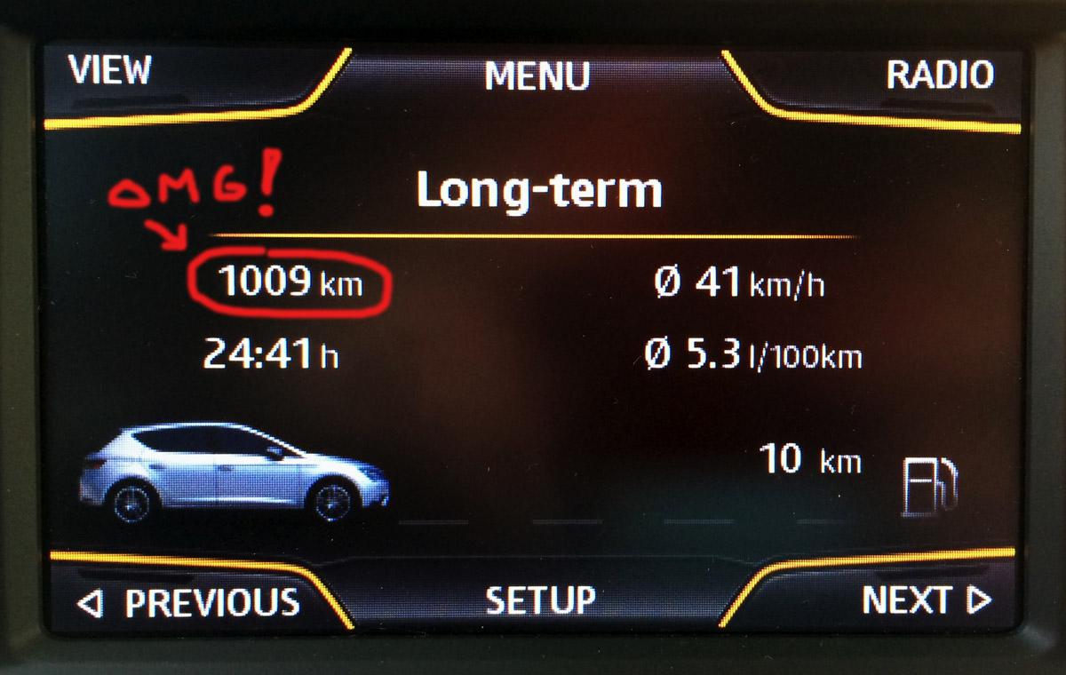 Leonilla yli 1000 km yhdellä tankillisella!