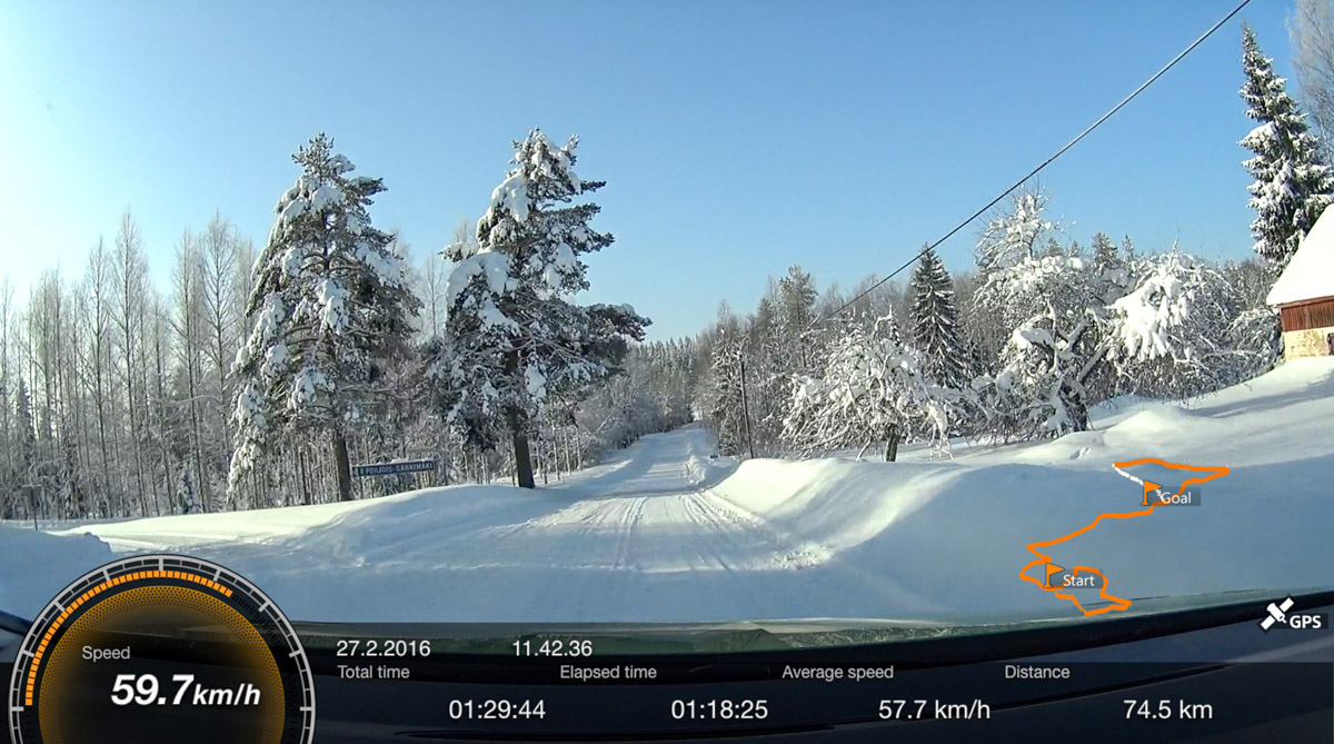 Onnistuuko taloudellinen ajaminen talvella? Savon Pihistys Kuopion Autokauppa Ecorun 27.2.2016