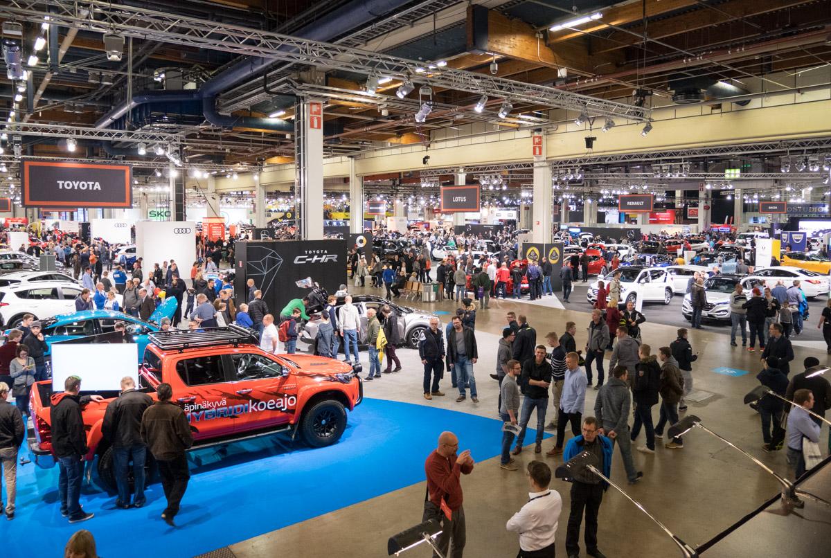 Auto 2016 -messut - autojen Mega Pop-Up myymälä ja paljon muuta