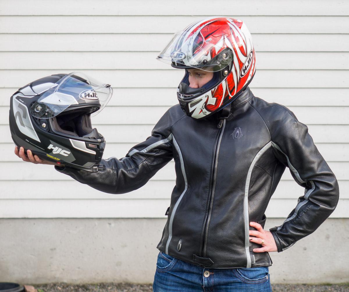 HJC R-PHA 70 - ei enää ikinä aurinkolaseja moottoripyöräillessä!