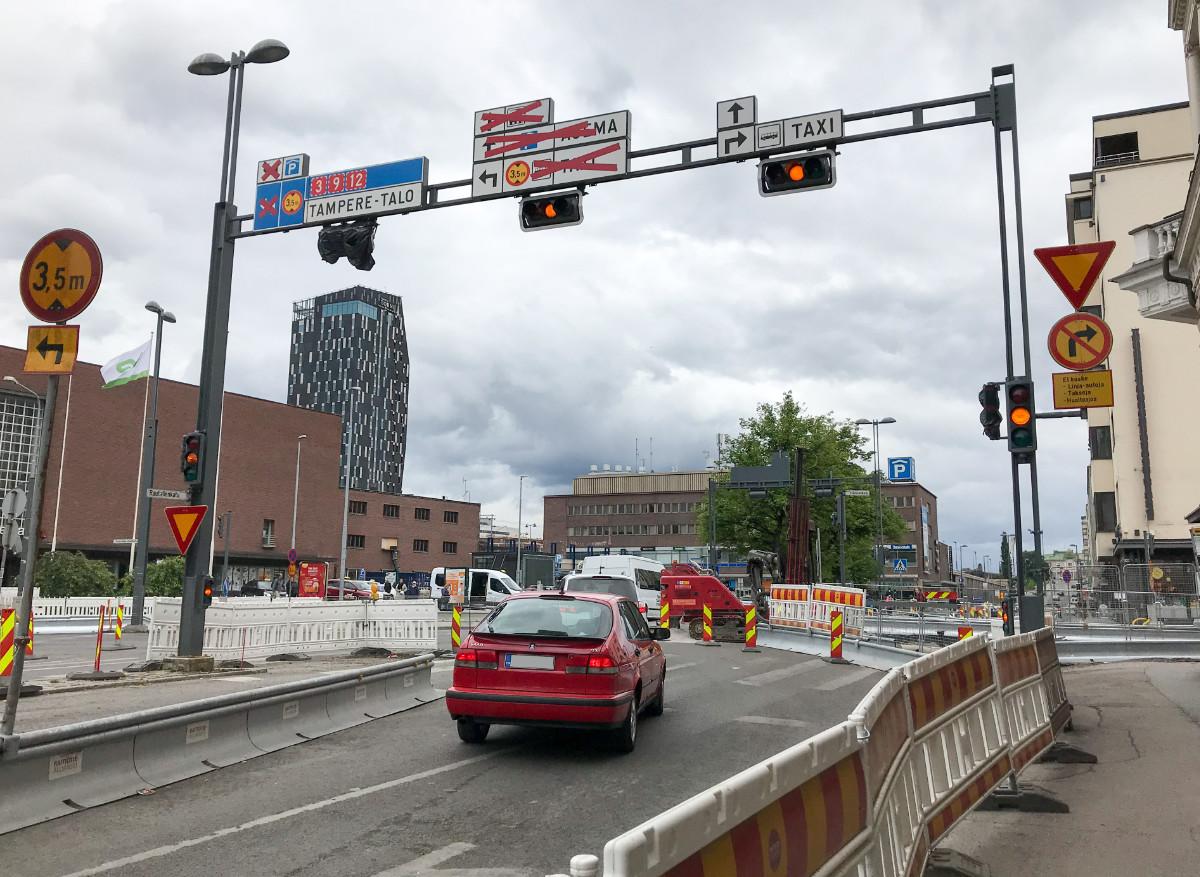 Tampere - jännittävimmät, hienoimmat ja vaarallisimmat liikennekohteet