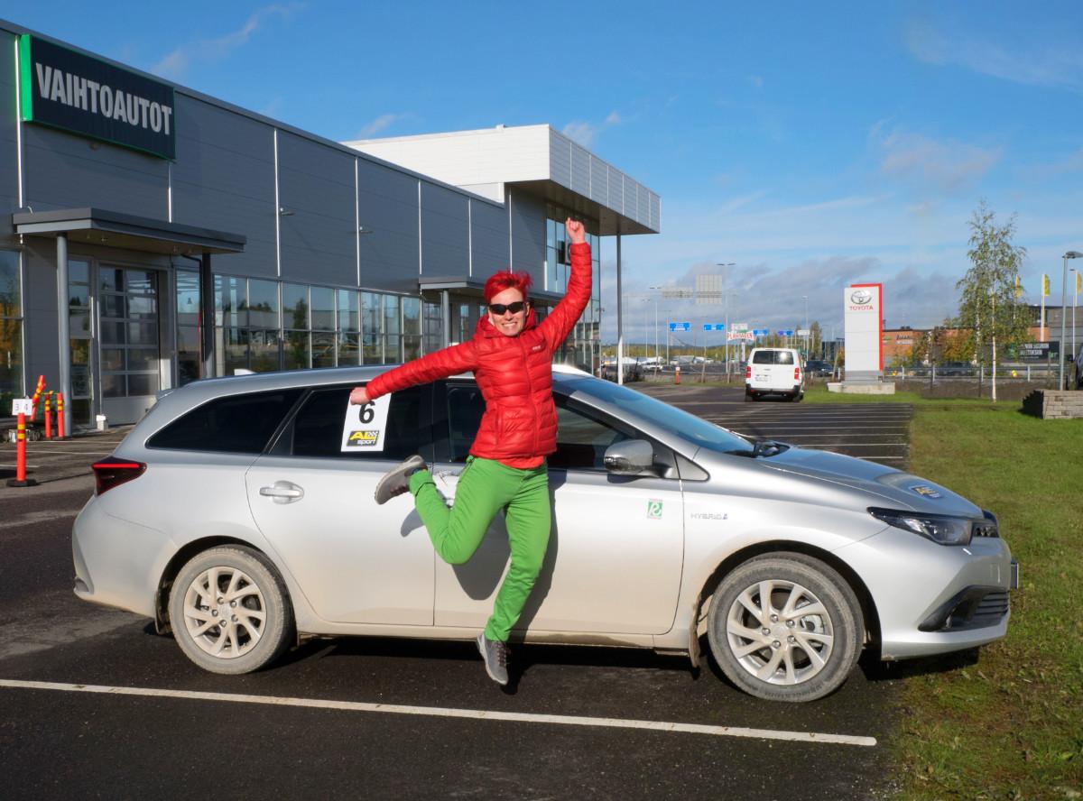 Vain 3,6 millilitran päässä voitosta - Toyota EcoRun 6.10.2018