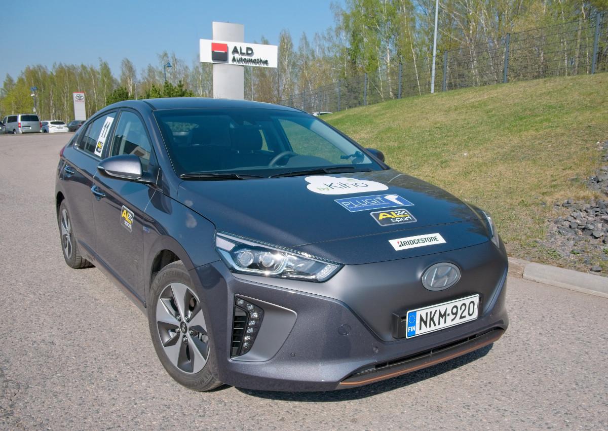 Sähköautojen pienin kulutus! AL-Helsinki Ecorun 27.4.2019