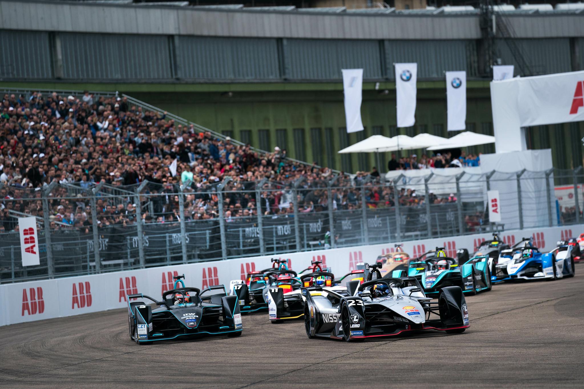 ABB FIA Formula E ja Berliinin E-Prix esittelyssä