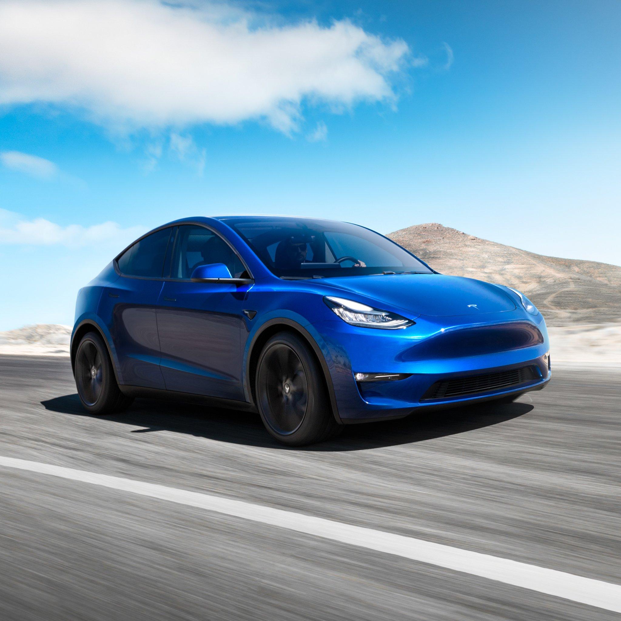 S 3 X Y -automallisto on valmis, kun Tesla esitteli uuden Model Y:n