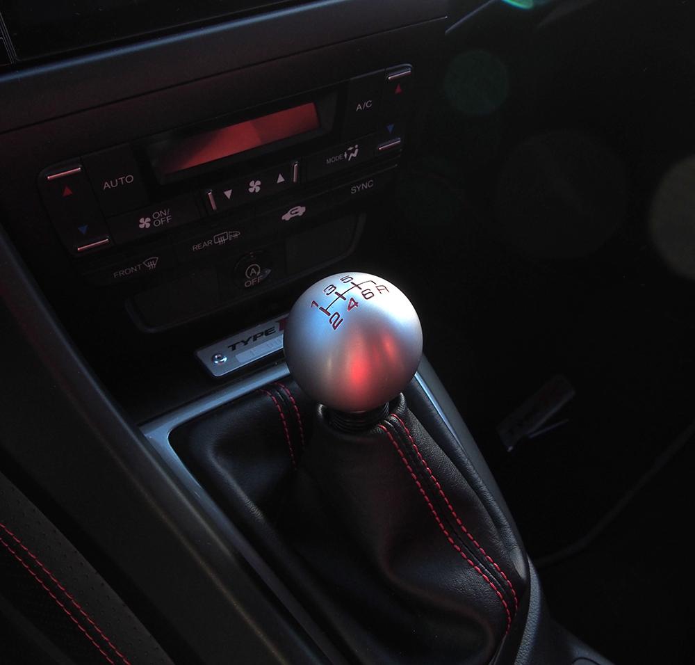 Honda Civic Type R vaihdekeppi