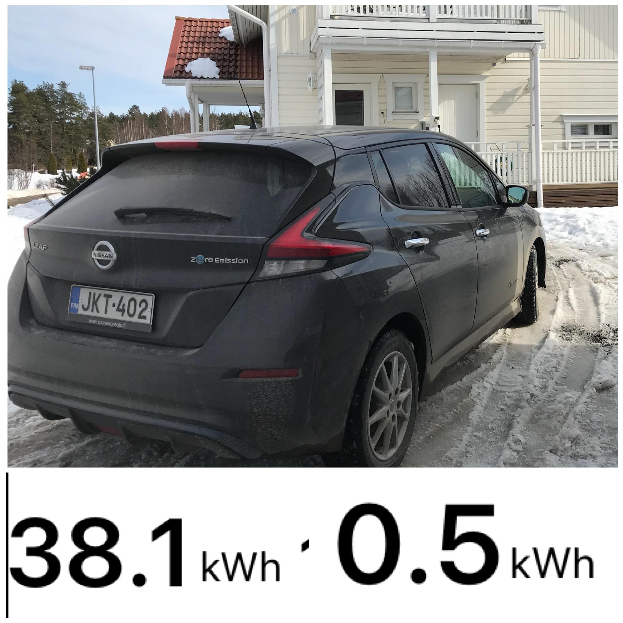 Testattua: Nissan Leaf 40kWh:n akusta on todellisuudessa käytettävissä 37,6 kWh