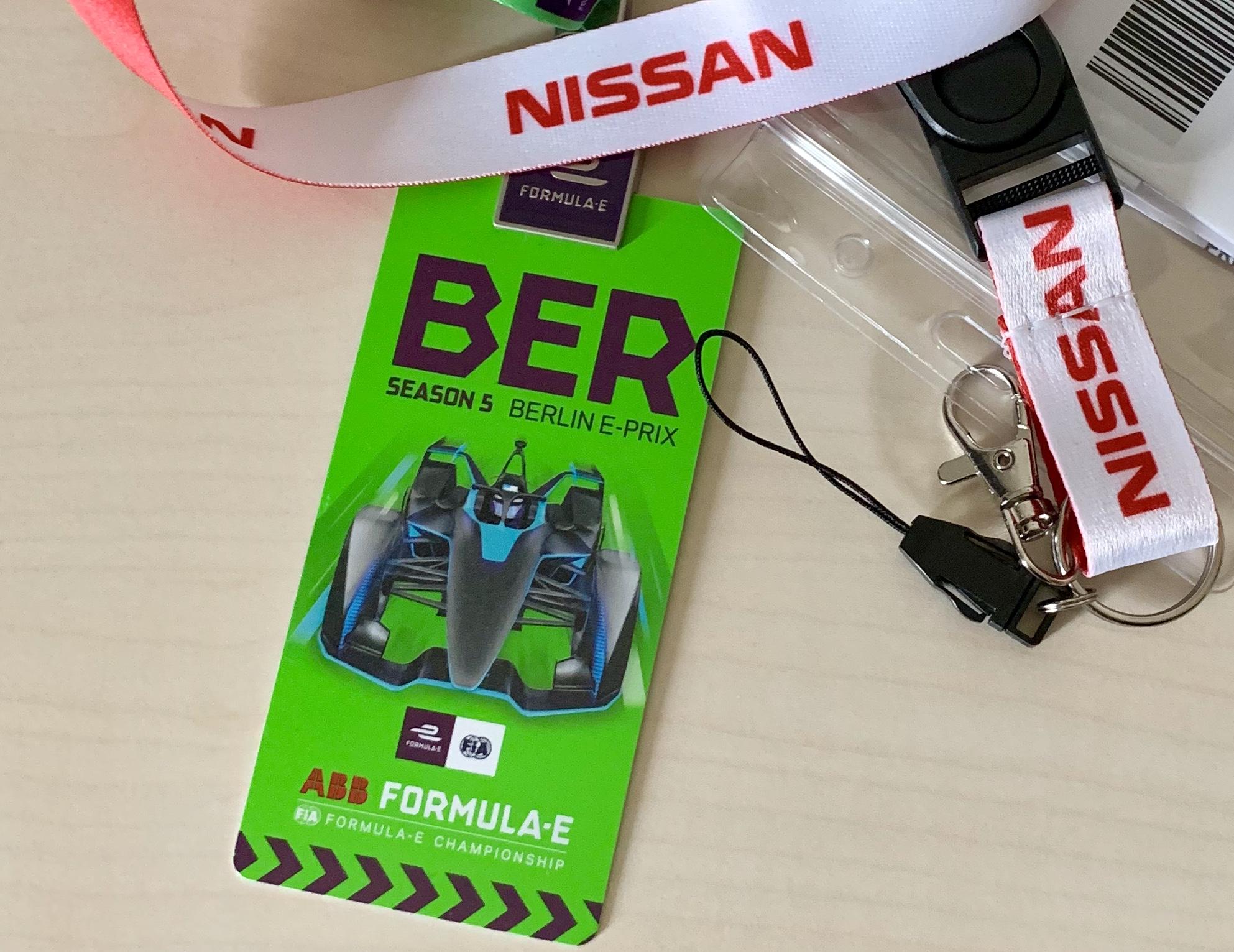 ABB FIA Formula E Berliinin osakilpailua seuraamassa 24. ja 25.5.2019