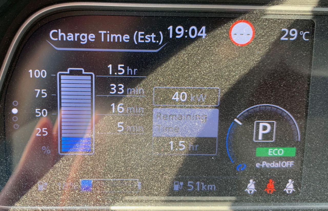 BMS-päivitys helpotti #rapdigate haittaa, mutta ei poistanut ongelmaa 40 kWh Leafissa
