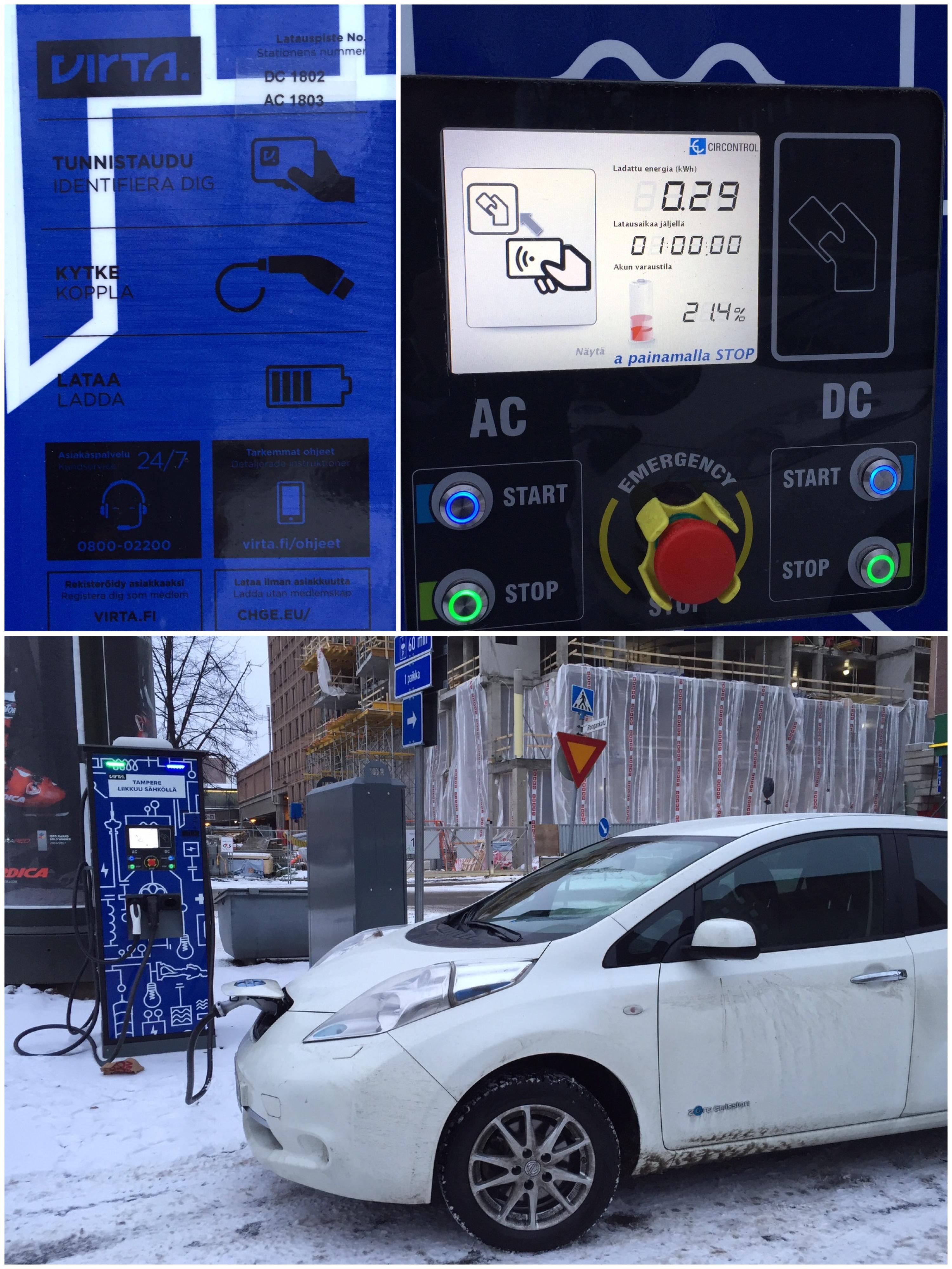 Tampereen keskusta on saanut vihdoin sähköautojen pikalaturin