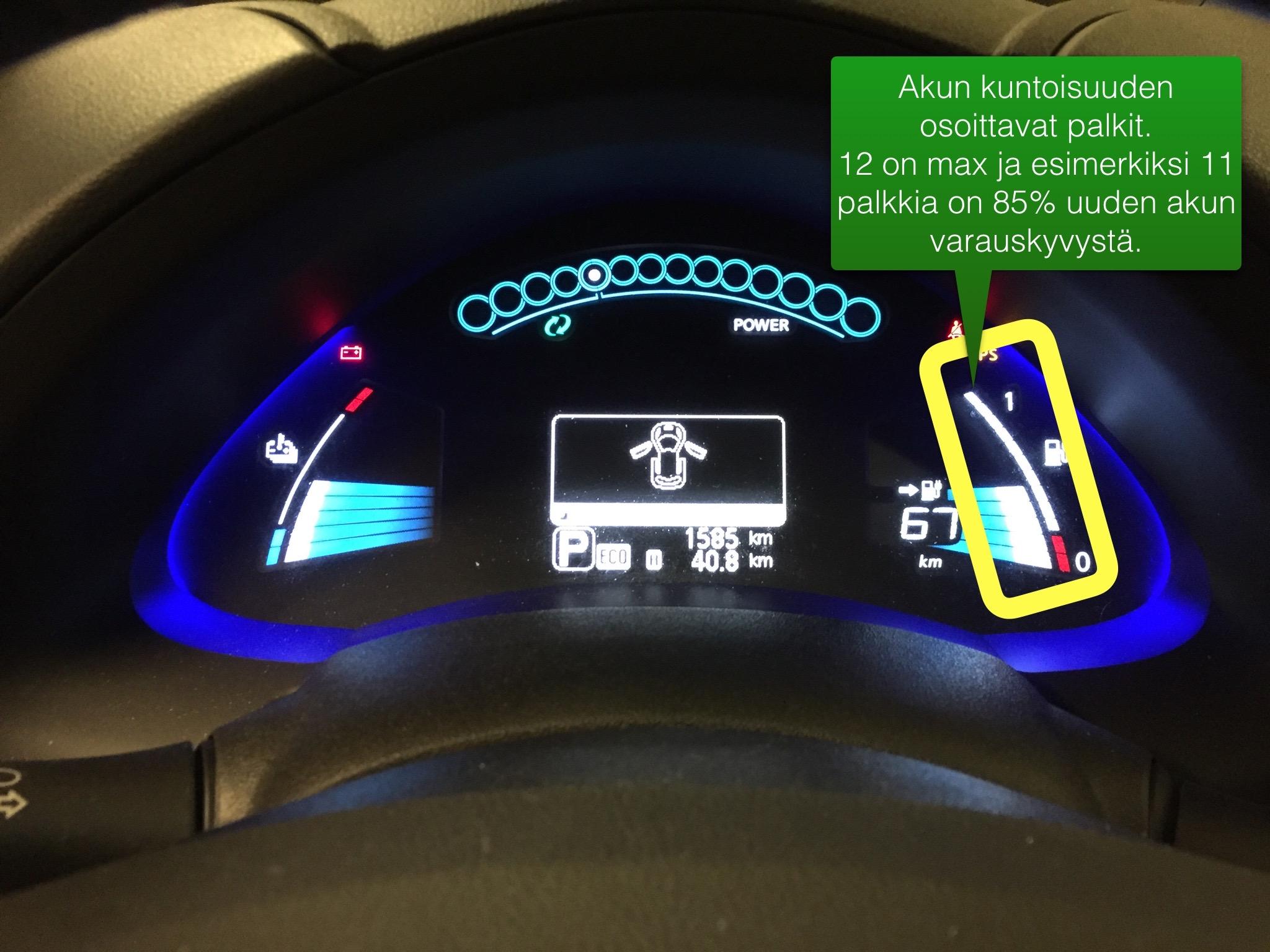 Sähköauto akun vaihto