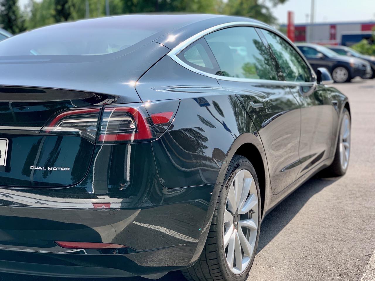 Tesla Model3 koeajo