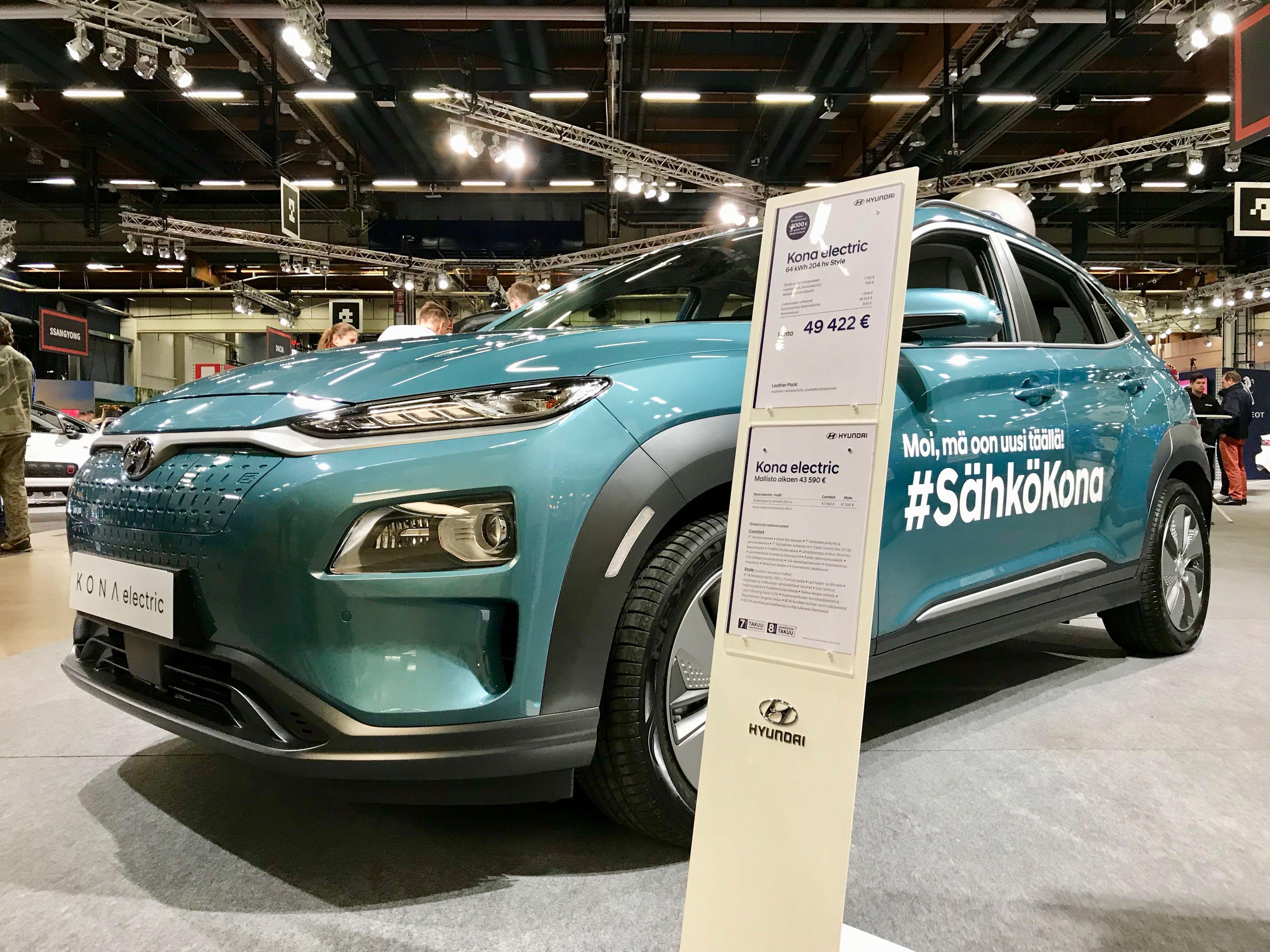 Auto 2018 -Hyundai Kona Electric