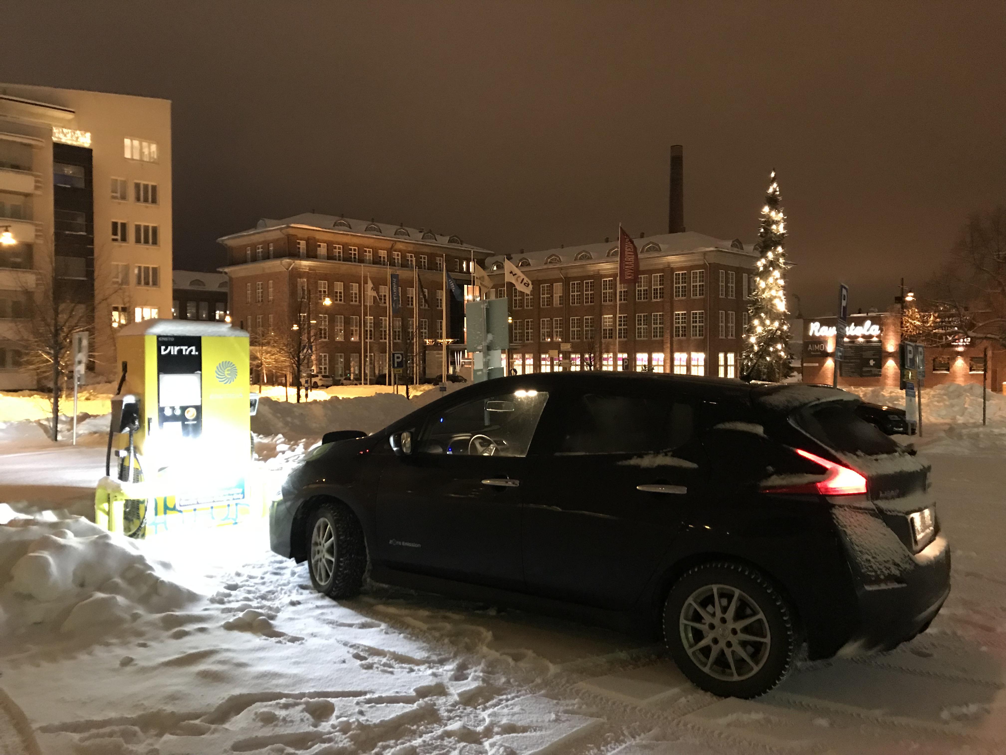 Millainen on Nissan Leaf 40 kWh talviautona?