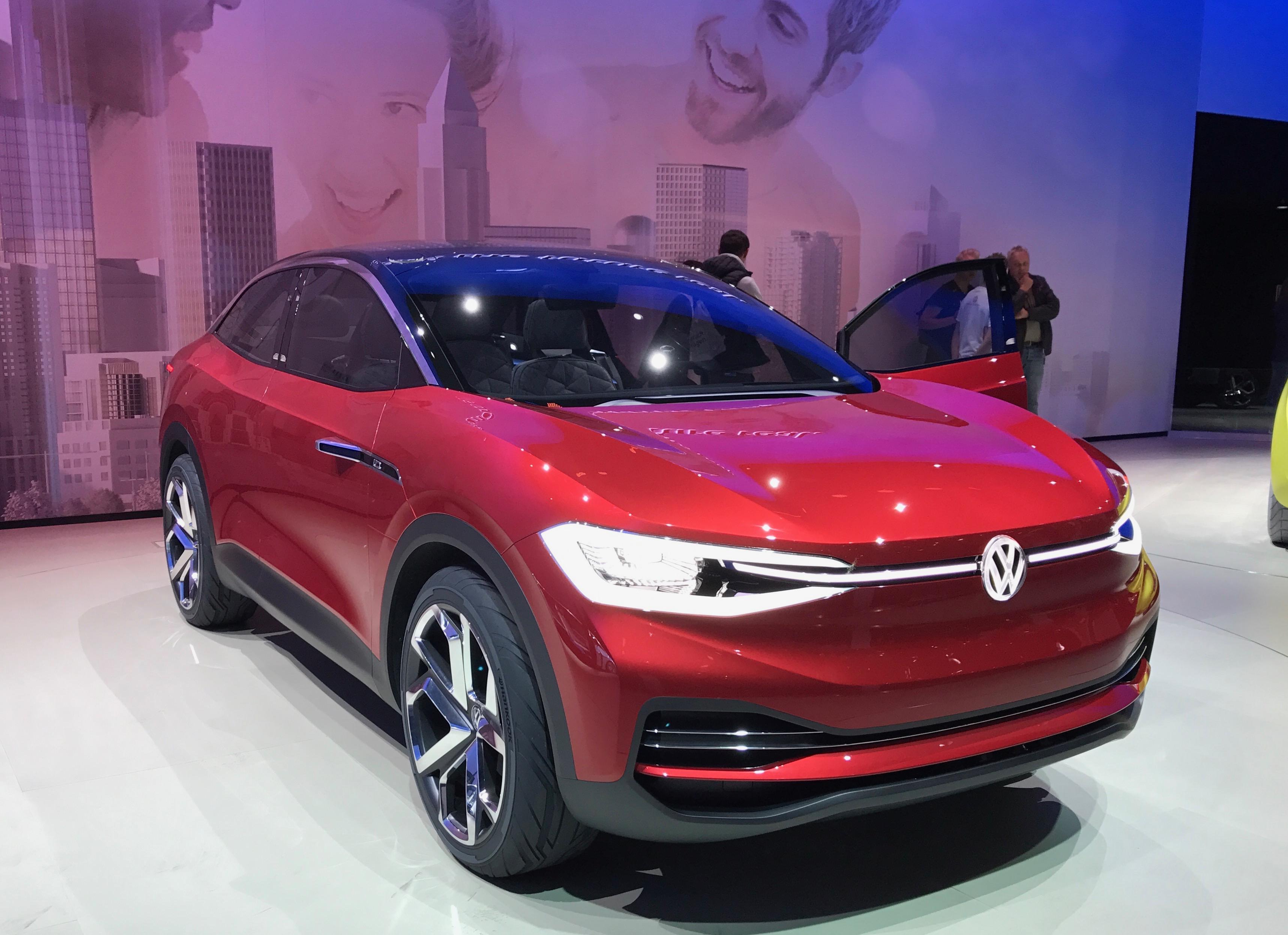 Volkswagen Group esitteli useita kiinnostavia sähköautoja Frankfurtissa 2017