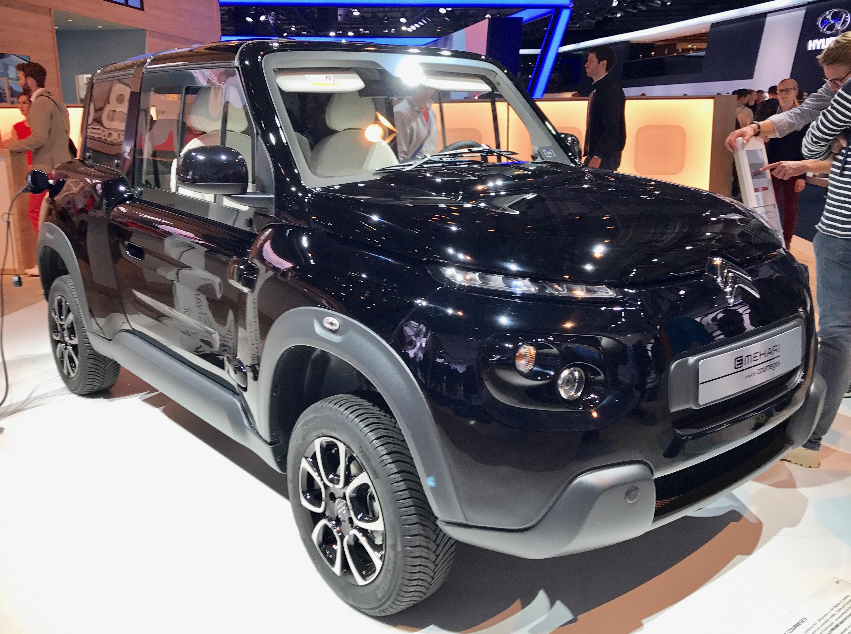 Citroen esitteli IAA2017 automessuilla E-Meharia