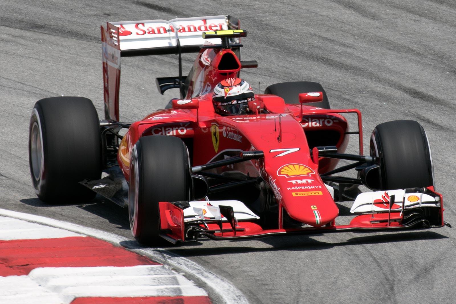 Formula 1 ja herrojen metkut Ferrarilla