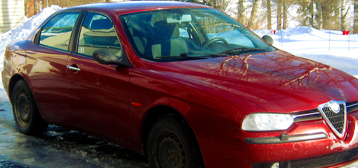 Kaksi muistoa Alfa Romeosta