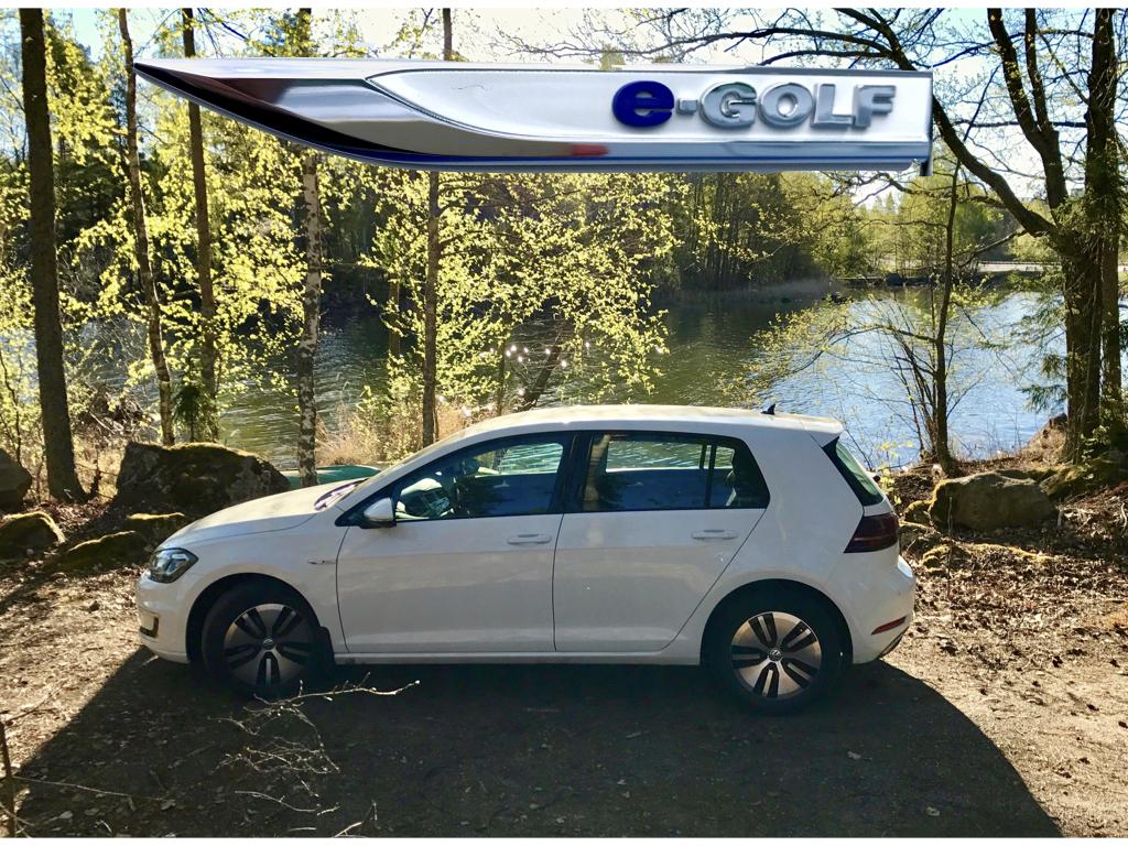 VW e-Golf 35,8 kWh koeajoraportti