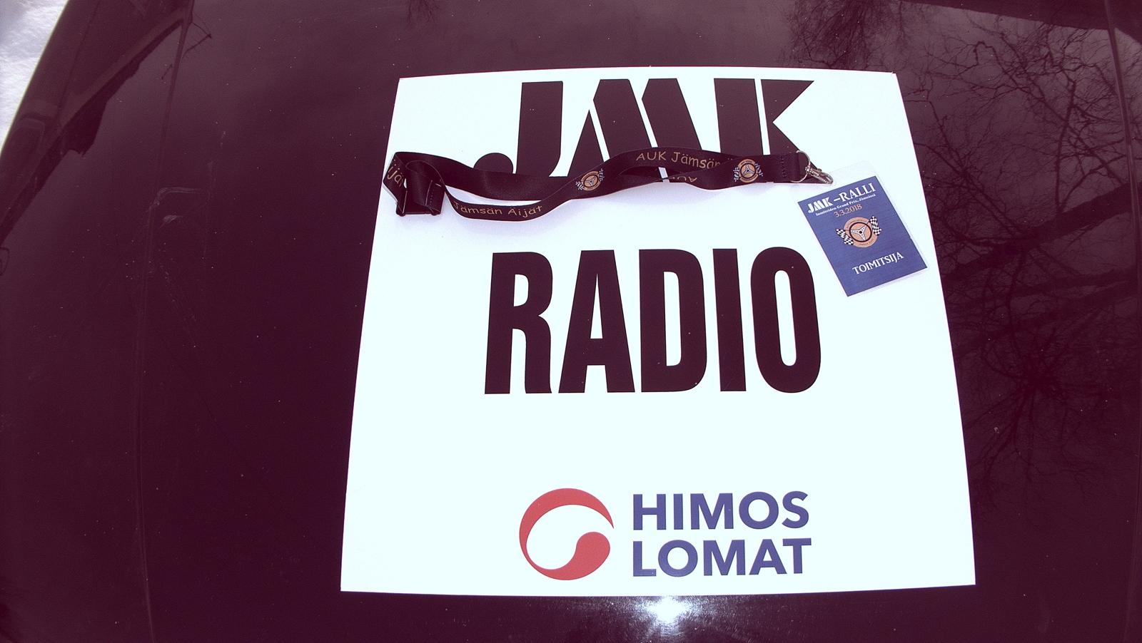 JMK Ralliradio osa 2 -rallireportteri Alfa