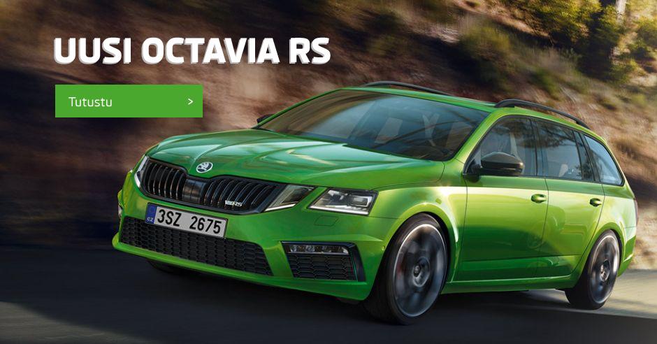 Uusi Octavia RS