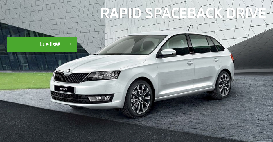 Uusi Rapid Spaceback Drive