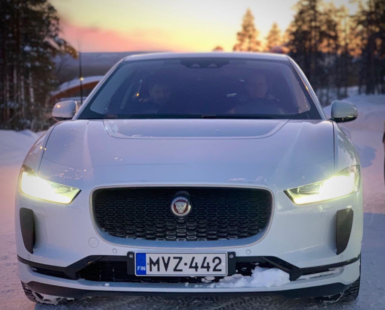#evwintertour 2020 päivä 6, Pyhältä Jaguar I-Pacella Tampereelle