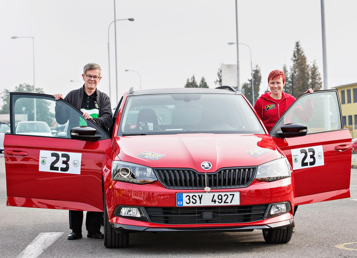 Skoda Economy Run 2016 - taloudellisen ajon kilpailu Tsekissä (osa 1/2)